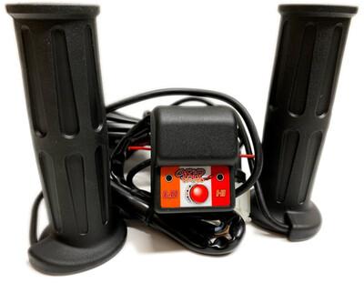Fire Power ATV Heated Grips, Black (01083552  300 MIN, 40-4130)