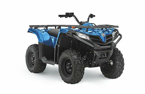 2021 CFMOTO CFORCE 400 ATV 4x4 Blue
