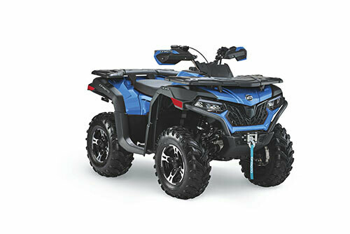 2021 CFMOTO CFORCE 600 EPS ATV 4x4 Blue