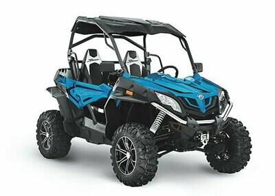 2021 CFMOTO ZFORCE 800 EX EPS SSV 4x4 Blue