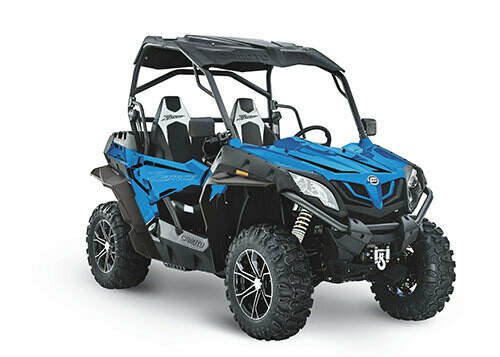 2021 CFMOTO ZFORCE 800 Trail EPS SSV 4x4 Blue