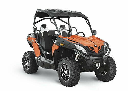 2021 CFMOTO ZFORCE 500 Trail EPS SSV 4x4 Orange