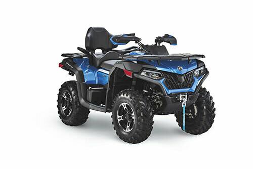 2021 CFMOTO CFORCE 600 Touring EPS ATV 4x4 Blue