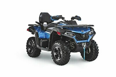 2021 CFMOTO CFORCE 600 Touring EPS ATV 4x4 Blue
