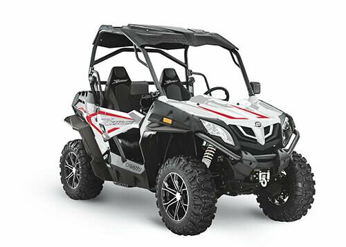 2021 CFMOTO ZFORCE 800 Trail EPS SSV 4x4 White