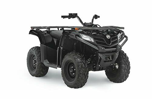 2021 CFMOTO CFORCE 400 ATV 4x4 Black