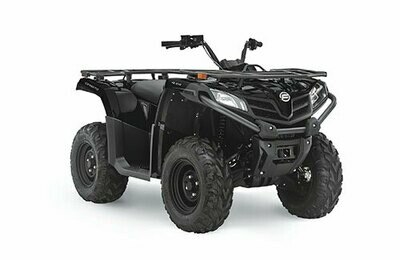 2021 CFMOTO CFORCE 400 ATV 4x4 Black