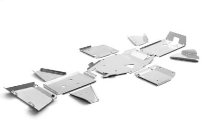 CFMOTO CFORCE 600 2-Up Skid Plate Aluminum, OEM (9CS#-804200-6400)