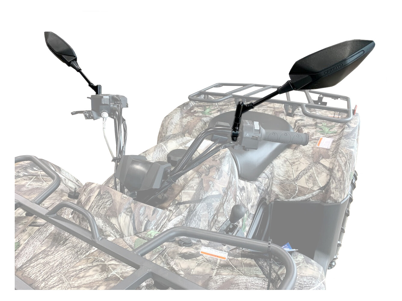 CFMOTO CFORCE ATV Side View Mirrors, OEM 400/500/600/800 (9AY0-200200, 9AY0-200300)