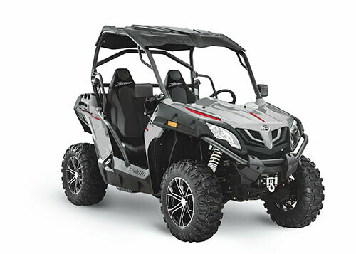2021 CFMOTO ZFORCE 500 Trail EPS SSV 4x4 Grey