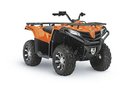 2021 CFMOTO CFORCE 500 S EPS ATV 4x4 Orange