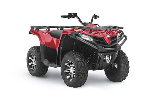 2021 CFMOTO CFORCE 500 S EPS ATV 4x4 Red
