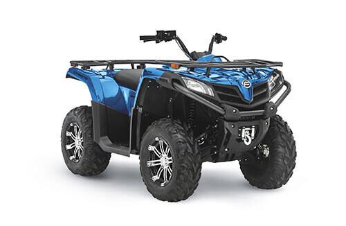 2021 CFMOTO CFORCE 500 S EPS ATV 4x4 Blue