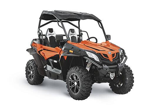 2021 CFMOTO ZFORCE 800 Trail EPS SSV 4x4 Orange