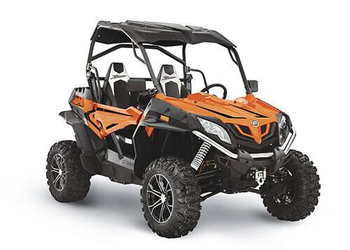 2021 CFMOTO ZFORCE 800 EX EPS SSV 4x4 Orange