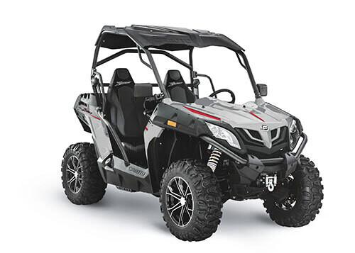 2021 CFMOTO ZFORCE 500 Trail EPS SSV 4x4 Grey
