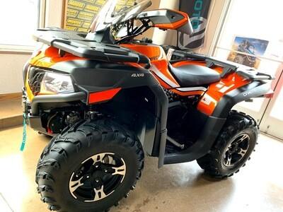 2021 CFMOTO CFORCE 600 EPS ATV 4x4 Orange
