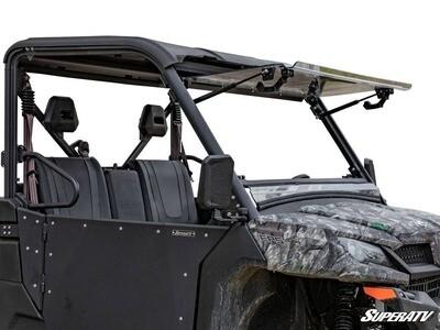 SuperATV CFMOTO UForce 1000 Scratch Resistant Flip Windshield (FWS-CF-UF1000-70)