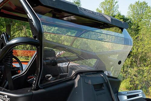 CFMOTO ZFORCE 950 Rear Windshield Hard-Coated Poly (5BYV-805300-1000)