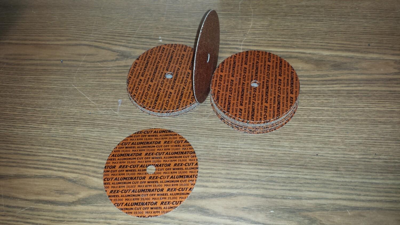 "!!! SPECIAL !!! RexCut Aluminator Cutting Disc 4"""