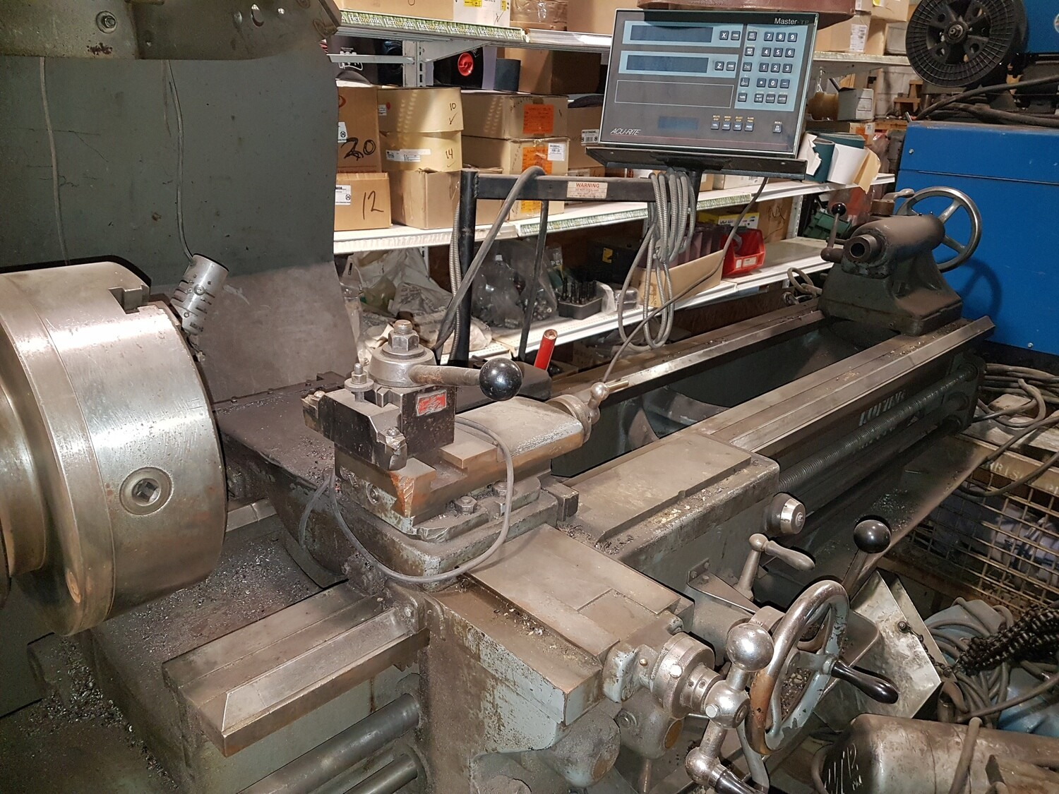"""KOPINGS Lathe 20"""" x 80"""" with Acu-Rite Digital Read Out"""