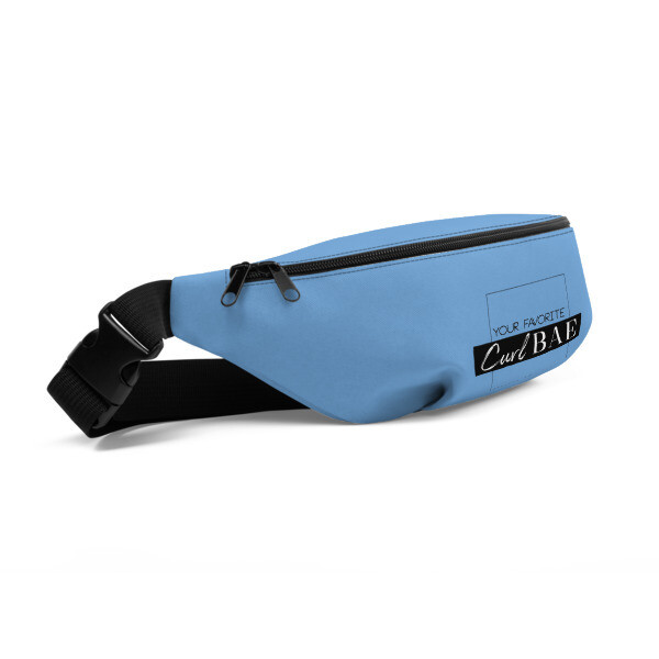 Curl Bae Baby Blue Fanny Pack