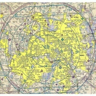 Aeronautical Plotting Chart - REV July 2001
