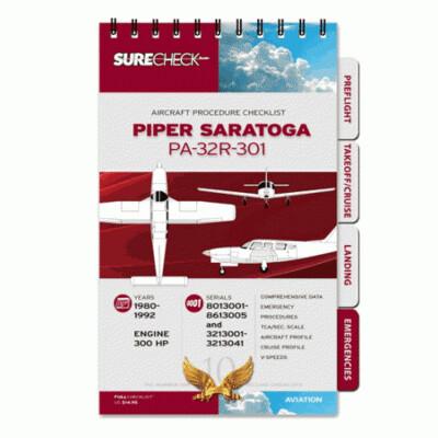 SureCheckPro Piper Saratoga PA32R-301