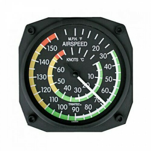 Airspeed Indicator Thermometer