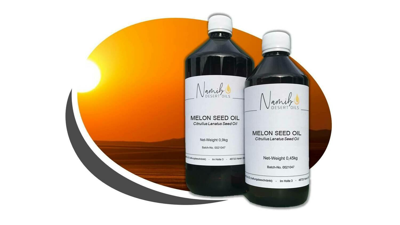 Kalahari Melon Öl - in 0,5 Liter Flasche