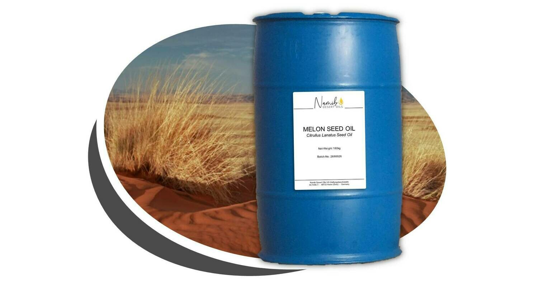 Kalahari Melon Öl - BULK im Kunststofffass ab 21,00 Euro/kg [netto]