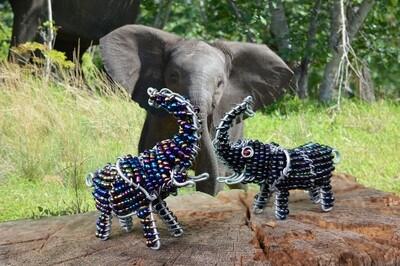 Kleine Kunstwerke aus Namibia - Elefant