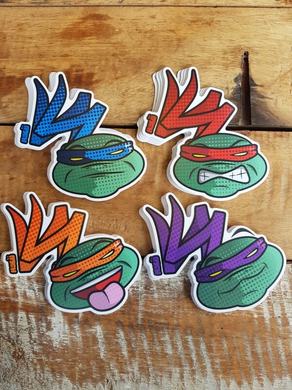 Sticker Pack TMNT