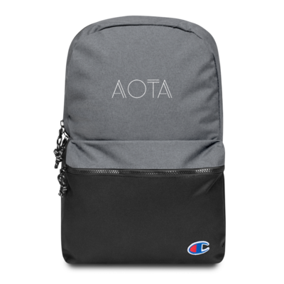 AOTA Embroidered Champion Backpack