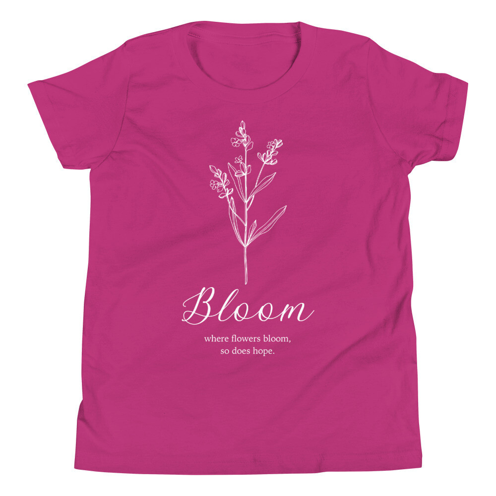 Bloom Youth Short Sleeve T-Shirt