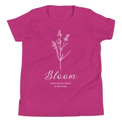 Bloom Youth Short Sleeve T-Shirt