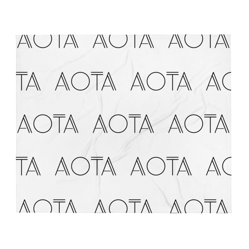 AOTA Repeat Throw Blanket