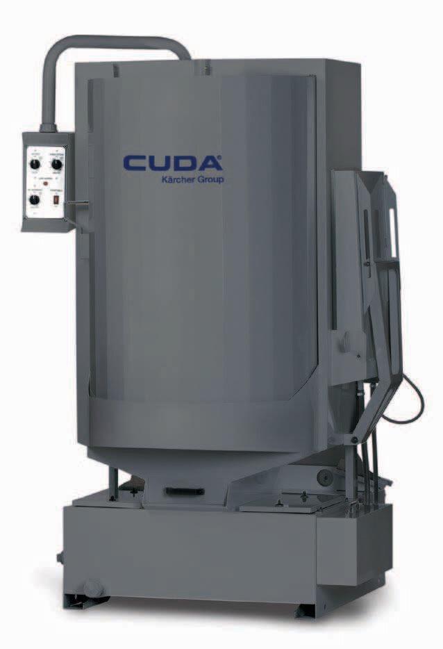 CUDA 2840 Front Load Parts Washer Model 230 Volt Single Phase