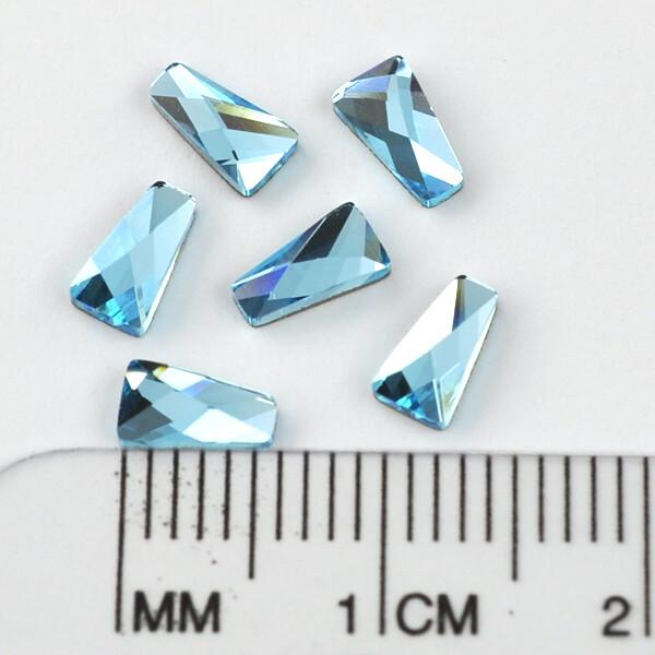 #2770 Aquamarine Wing 6 x 3.5 mm (6pcs)