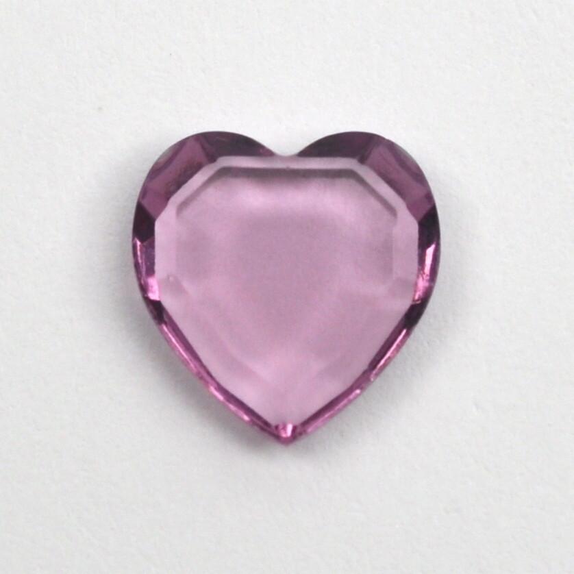 #4816/2 Heart 10mm, Choose Color (25 pcs) Unfoiled