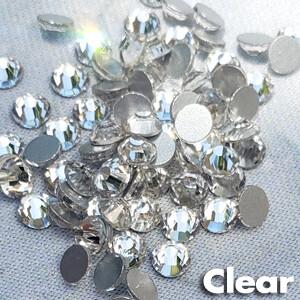 Clear - KiraKira Glass Rhinestones by CrystalNinja