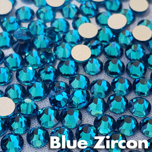 Blue Zircon - KiraKira Glass Rhinestones by CrystalNinja