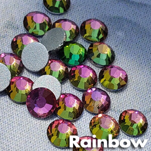Rainbow - KiraKira Glass Rhinestones by CrystalNinja
