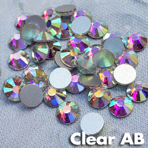 Clear AB - KiraKira Glass Rhinestones by CrystalNinja