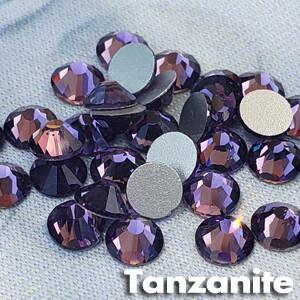 Tanzanite - KiraKira Glass Rhinestones by CrystalNinja