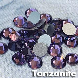 Tanzanite - KiraKira Glass Rhinestones by CrystalNinja