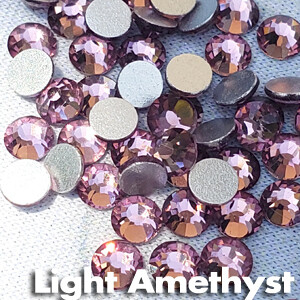 Light Amethyst - KiraKira Glass Rhinestones by CrystalNinja