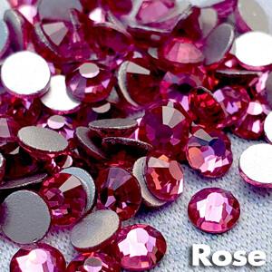 Rose - KiraKira Glass Rhinestones by CrystalNinja