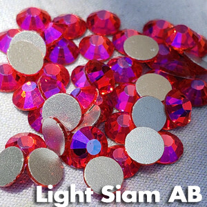 Light Siam AB - KiraKira Glass Rhinestones by CrystalNinja
