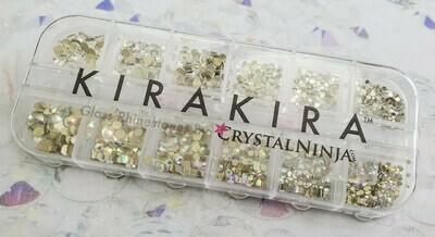KiraKira Assortment Box1: Clear & Clear AB